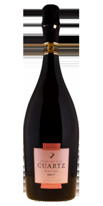 Vin QUARTZ – Spumant Roze- efervescent brut